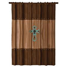 Turquoise Shower Curtain Las Cruces Turquoise Shower Curtain