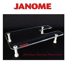 sewing machine table amazon genuine janome sewing machine extension sew table cmx30 sl30x 8077