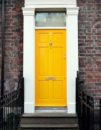 Paint For Exterior Doors Yellow Brick Exterior Home Colors That Go With Front Door For
