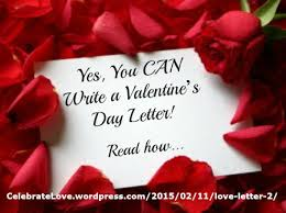 yes you can write a valentine u0027s day letter larry james