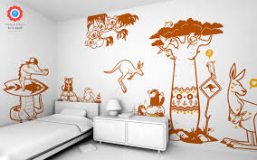australia surfer crocodile wall decal baby kids wall decals e crocodile kids wall decals