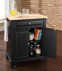 buy newport solid black granite top kitchen island in classic cherry