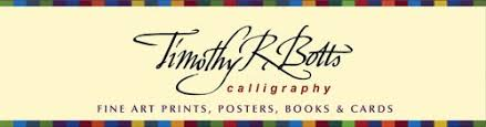 timothy botts prints tim botts calligraphy prints posters books cards