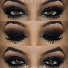 brown smokey eye makeup tutorial you