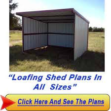 Making Your Own Shed Plans by 13 16 Loafing Shed Plans U2013 Build Your Own Run In Shed