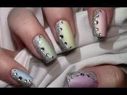 nagellack designs pastell mix nageldesign mit nagellack für kurze und lange nägel