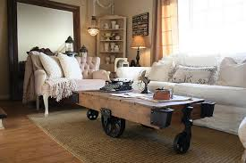Industrial Style Coffee Table 25 Coffee Tables On Wheels To Roll In The Good Times Best Of