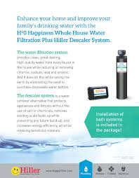 House Plumbing System H20 Happiness Whole House Water Filtration U0026 Hiller Descaler