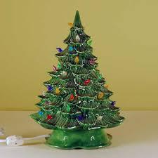 ceramic christmas tree ceramic lighted ceramic christmas tree small from sarajane s ceramics