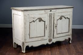 antique white painted french buffet mecox gardens