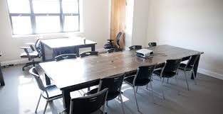 Portable Meeting Table Farmhouse Conference Table Black Tables Emmorworks Stained