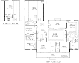 3 Bedroom Floor Plans With Bonus Room by Houseplans Biz House Plan 2891 A The Bowden A