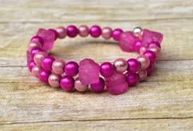 make bead bracelet wire images How to make a beaded wrap bracelet in 3 steps jpg