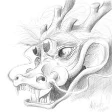 chinese dragon head by dracoe19 on deviantart