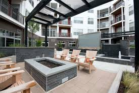 Outdoor Living Areas Images by Stone Tile In Outdoor Living Space Washington D C