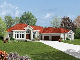 southwestern home wood ranch florida style home plan 042d 0007 house plans and more