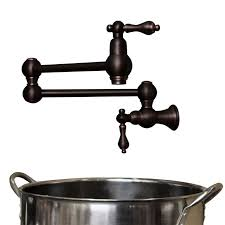 solid brass kitchen faucet rubbed bronze black 21 pot filler wall mount vintage