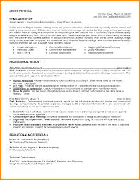 architect resume 7 sle architect resume agenda exle