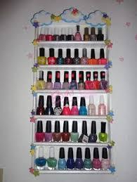 diy nail polish rack diy for every thing pinterest