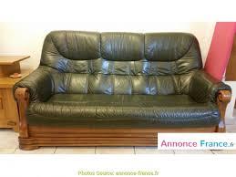canap cuir vert le plus populaire canape cuir vert et bois artsvette