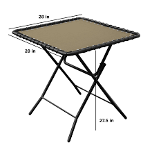 amazon com caravan sports textilene table beige beige garden