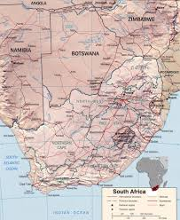 Africa Map by Map Of South Africa Travel