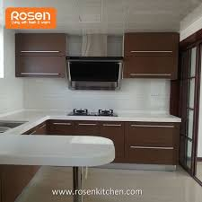 kitchen cabinets formica china customized best quality brown color formica slab painting