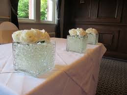 3 vases centerpieces wedding table centrepieces manchester and the northwest