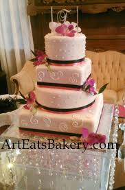 world wide wedding and birthday cakes four tier round and square