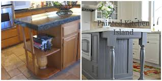 attractive painted kitchen islands with gallery pictures island