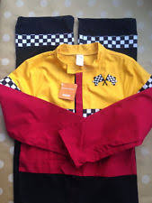 Halloween Costume Race Car Driver Race Car Driver Costume Ebay