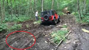 jeep stuck in mud word request what do you call the imprinted pattern left behind