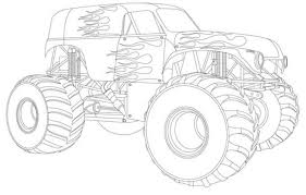 monster truck coloring pages or print these amazing pictures to