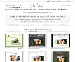 knot wedding website best website builders for wedding