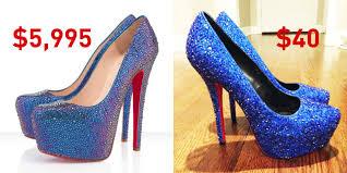 red bottom heels diy