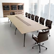 Contemporary Conference Tables by Contemporary Conference Table Wooden Rectangular For Public