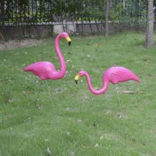 popular pink lawn flamingo buy cheap pink lawn flamingo lots from