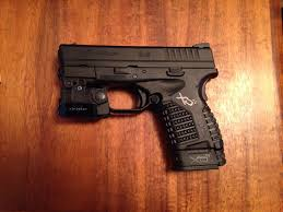 springfield xds laser light combo holster for xds 45 viridian c5l