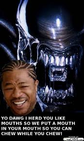 Yo Dawg Meme - yo dawg xhibit 10 judgmental observer