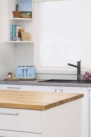 kaboodle kitchen designs nougat truffle kitchen with euro oak island benchtops kaboodle