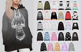 kalewa a random hoodies u2022 sims 4 downloads sims 4 clothing
