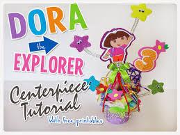 the290ss diy dora the explorer centerpiece tutorial easy tutorial