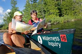 Bwca Map Boundary Waters Canoe Area Paddle Adventure Wilderness Inquiry