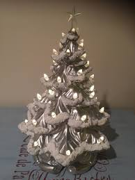 updated vintage ceramic tree our crafty