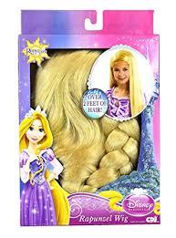 amazon disney princess tangled rapunzel wig toys u0026 games