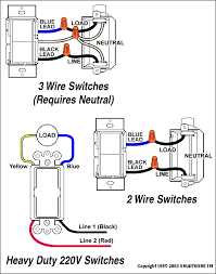2 and 3 wire switch diagrams smarthome