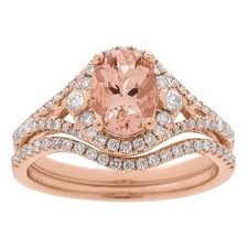 overstock bridal sets morganite bridal jewelry sets shop the best wedding ring sets