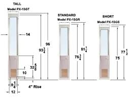 Sliding Patio Door Dimensions Charming Sliding Patio Door Measurements R71 In Stunning Home