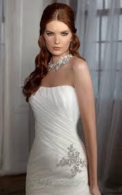 forced feminization wedding cheap white mermaid floor length chiffon strapless dress with