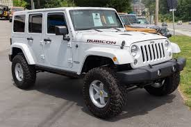 white jeep rubicon 2014 white jeep rubicon unlimited for sale